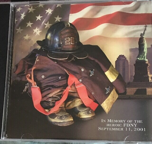 FDNY Christmas Music CD 2001 9/11 Xmas Memory Of Heroes