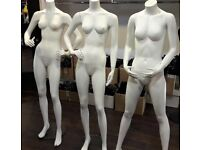 MANNEQUIN FOR SALE IN GOOD CONDITION-Price per piece-used in small shop