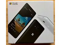 Microsoft lumia 550, 4G white brand new in box