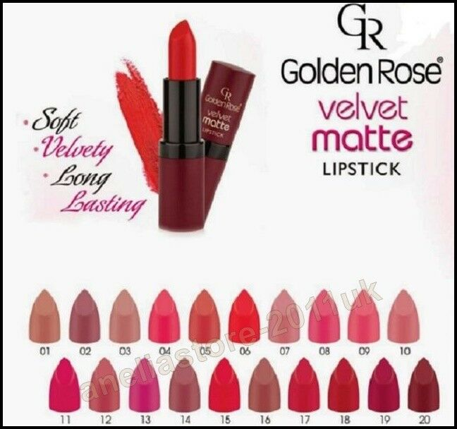 купить Golden Rose Velvet Matte Lipstick Soft With Vitamin на Ebay