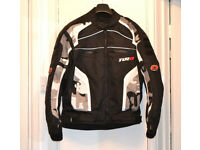 Tuzo Terrain Waterproof Motorcycle Jacket worn a couple of times, size medium 42, like new condition