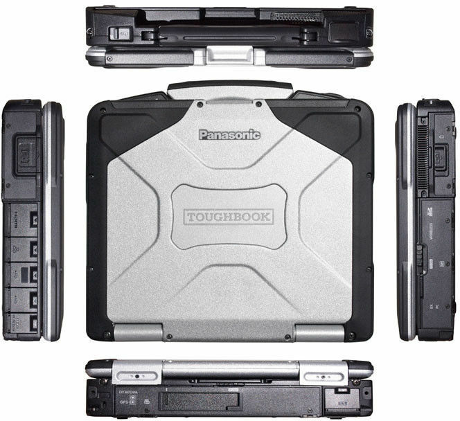 Panasonic ToughBook CF-31 i5-M520@2.40GHz)/ 4GB✔️500GB✔️Win 7 Pro/ 80 HOURS