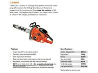Echo CS-8200 chainsaw (NEW & MINT)