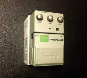 Ibanez TS7 Tubescreamer with Tone-Lok feature