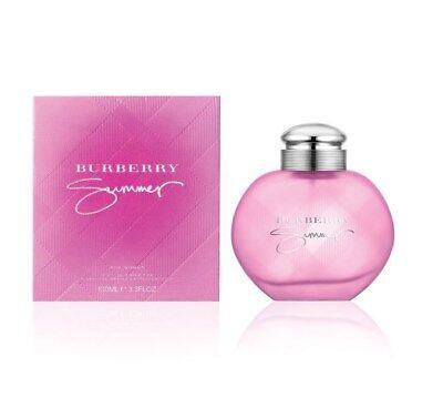 BURBERRY SUMMER 3.3 oz 2013 Eau De Toilette Spray EDT Womens Perfume 3.4 NEW NIB Burberry Spray Eau De Toilette