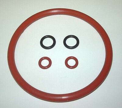 Cornelius Corny Keg O-ring Kit For Beer Soda Wine - Orange Red Silicone Orings
