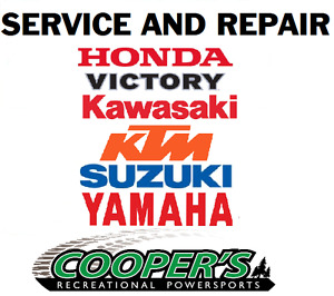 SPRING service packages available at Cooper's.  In town pickup!