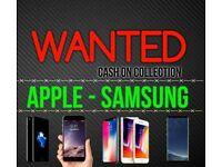 IPHONE X 10 8 7 PLUS WANTED SAMSUNG S9 S8 NOTE MACBOOK AIR PRO TOUCHBAR IPAD 128GB 256GB 64GB