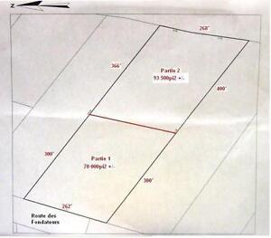 Terrain résidentiel de 1.6 a 3.75 acres (70 000 a 160 000 pi.ca) Saguenay Saguenay-Lac-Saint-Jean image 3