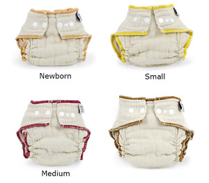 Organic Fitted Cloth Diapers, Covers, Doublers, & Pail Liners!
