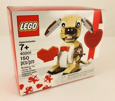 Lego Puppy Dog With Heart Valentine Holiday Set 40201 New & Sealed