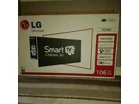 Smart 3D 42'' Flat Screen TV