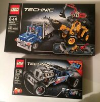 LEGO Technics Construction Crew + Hotrod *New in Box*
