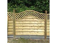 Brand new fence panels