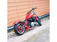 Suzuki bandit chopper hardtail