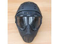 JT ELITE PAINTBALL MASK - ULTIMATE FULL HEAD PROTECTION - GOGGLE SYSTEM - CAN POST