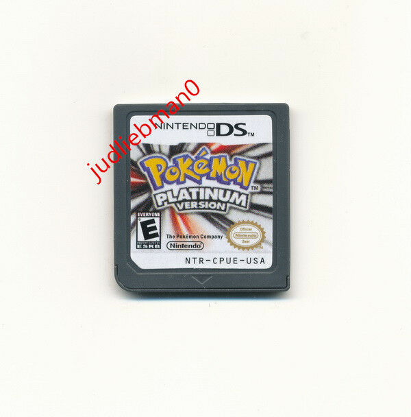 Nintendo DS Pokemon: Platinum Version Game Card for 3DS Lite NDSI DSI