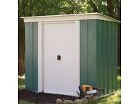 Arrow Pent metal shed 8x4 BNIB