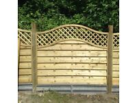 2 brand new 5ft fence panels