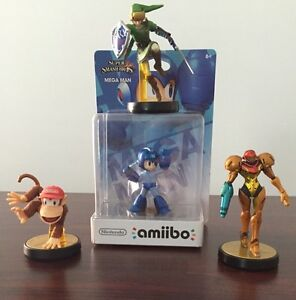 Amiibos For Super Smash Bros. Wii u
