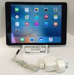 APPLE IPAD AIR 2 16GB WIFI + CELLULAR SPACE GREY Caboolture South Caboolture Area Preview