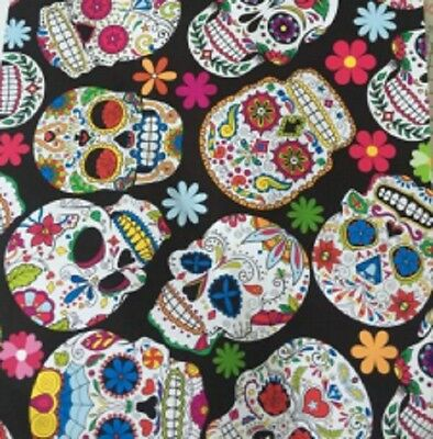 Hydrographic Water Transfer Hydrodipping Film Hydro Dip Sugar Skulls 3 1m