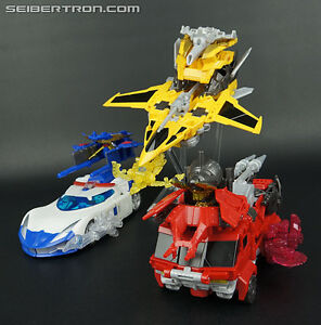 Transformers Prime Go! Japanese Combiners