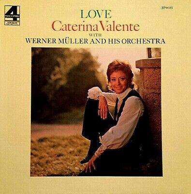 """CATERINA VALENTE """"LOVE"""" PREMIUM QUALITY USED LP (VG+/EX)"""