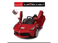 La Ferrari Ride-On,Parental Remote & Self Drive