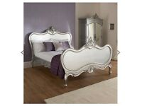 European Kingsize French Style Bed Without Mattress