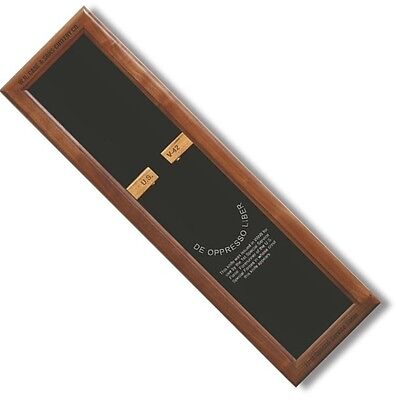 W.R. Case & Sons Walnut Magnetic Display For V-42 Knives Wooden Box 21943 *NEW* for sale  Van Nuys