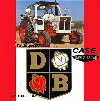 Case David Brown Db 1290 1390 1390 Operators Op Manual Hydra-shift Tractors Cd