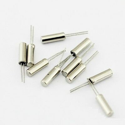 100 Pcs 32.768khz 32768hz Crystal Oscillator 2 X 6 Mm New S3