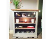 Shabby chic solid bookcase