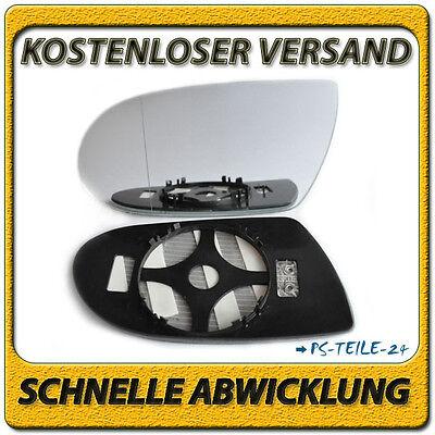 Asphärish Spiegelglas für MERCEDES SLK R171 2004-2008 links beheizbar