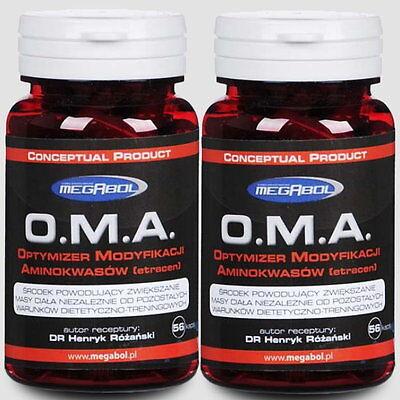 2x O.M.A. Gewichtszunahme unabhängig von Ernährung und Training / 112 Kapseln