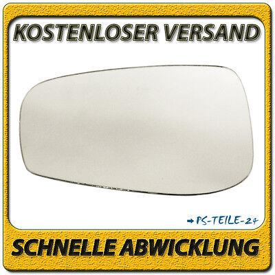 Spiegelglas für VOLVO S80 II 2006-2014 links asphärisch beheizbar elektrisch