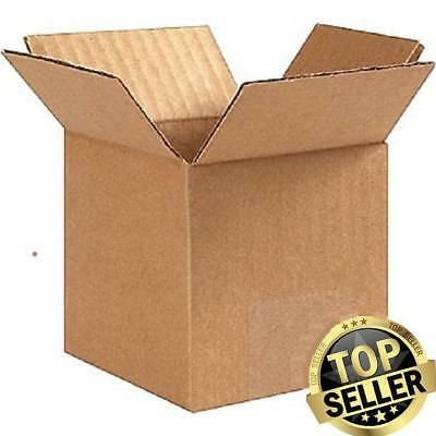 Small New Cardboard Delivery Boxes 25 Pack 4x4x4 Packing Shipping Mailing Moving