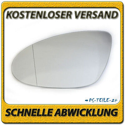 Spiegelglas für MERCEDES CLS-Klasse W219 2004-2008 links asphärisch Fahrerseite