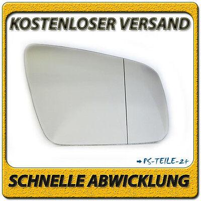 Spiegelglas für MERCEDES C-Klasse W204 2007-2009 rechts asphärisch Außenspiegel