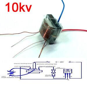 10kv high frequency high voltage transformer/booster coil inverter Ignition