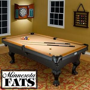 NEW MINNESOTA FATS 8.5' POOL TABLE COVINGTON POOL TABLES - GAME ROOM GAMEROOM BILLIARD BILLIARDS 8 BALL RECREATION