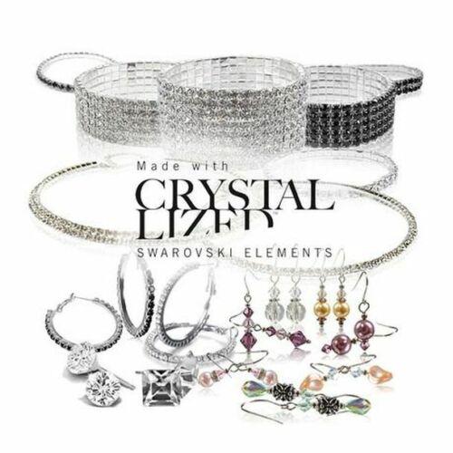 50 Pieces Asst made with  Swarovski Elements Jewelry - $1,400.00 retail