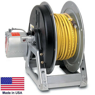 Pressure Washer Sprayer Electric Hose Reel - 125 Ft 38 Or 75 Ft 12 Id 12v