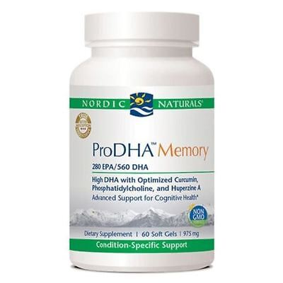 Best Omega-3s for Brain Health - ProDHA Memory by Nordic Naturals, Quality Fish (Best Omega 3 For Brain Health)