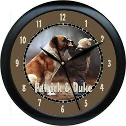 Custom Photo Wall Clock with Your Own Photo Plus Background Color Choices