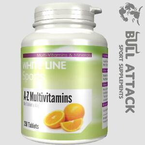 A-Z Multi-Vitamine & Mineralien 250 Tabletten = 250 Tage One a Day! Zink Vegan!