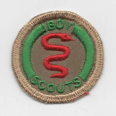 Healthy Man Merit Badge (Canada), Embroid. on Smooth Twill, C/E (Smooth On Canada)