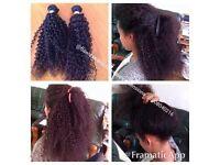Box braids/Faux locs /cornrow /closure weave hair extension /Afro caribbean/european hair braiding