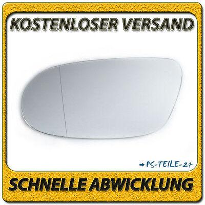 Spiegelglas zum Kleben für MERCEDES CLK W208 1996-2002 links asphärisch